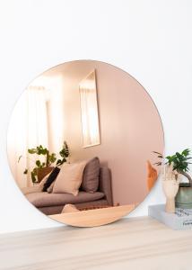 Spegel Premium Rose Gold 80 cm Ø