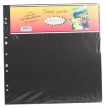 Albumblad Timesaver Gigant - 10 Svarta ark