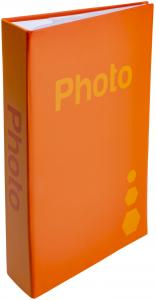 ZEP Fotoalbum Orange - 402 Bilder i 11x15 cm