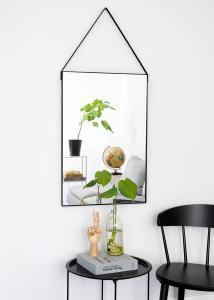 Spegel Naima Svart 51x76 cm