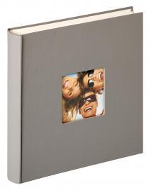 Fun Design Grå - 30x30 cm (100 Vita sidor / 50 blad)