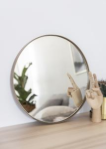 Spegel House Doctor Reflektion Antik Mässing 40 cm Ø