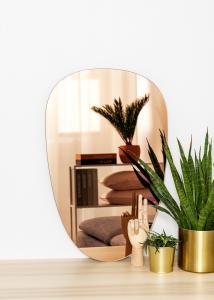 KAILA Spegel Shape II Rose Gold 45x70 cm