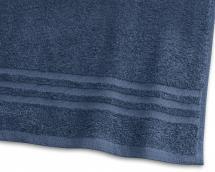 Badhandduk Basic Frotté - Marinblå 65x130 cm