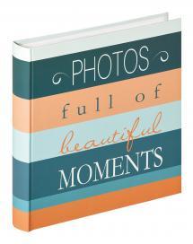 Moments Photos - 30x31 cm (100 Vita sidor / 50 blad)