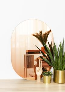 KAILA Spegel Oval Rose Gold 50x70 cm