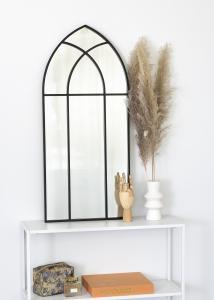 KAILA Spegel Garden Window - Svart 45x100 cm