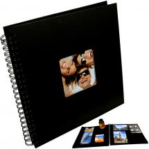 Fotoalbum Fun - 30x30 cm (50 svarta sidor)