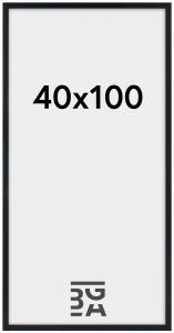 Stilren Plexiglas Svart 40x100 cm
