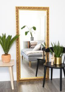 Spegel Baroque Guld 60x150 cm