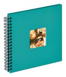 Fun Spiralalbum Grön - 26x25 cm (40 Svarta sidor / 20 blad)