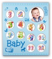Zep Baby Galleri Blå - 13 Bilder