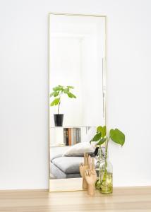 Spegel Narrow Guld 40x120 cm