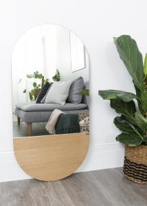 Spegel Oval Ek 50x100 cm