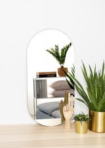 KAILA Spegel Oval 35x70 cm