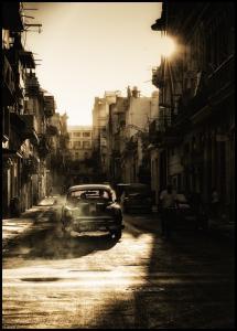 Mystic morning in Havana Poster