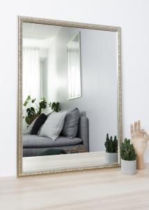 Spegel Nost Silver 50x70 cm