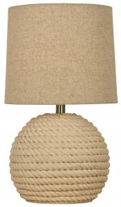 Bordslampa Sisal - Naturvit