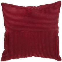 Kuddfodral Isac - Röd 50x50 cm