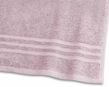 Badhandduk Basic Frotté - Rosa 65x130 cm