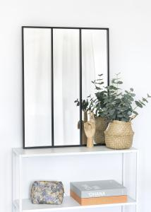 KAILA Spegel Sections - Svart 60x80 cm