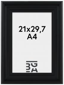 Ram Mora Premium Svart 21x29,7 cm (A4)