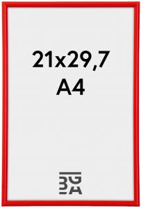 Galeria Röd 21x29,7 cm (A4)