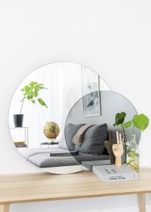 Spegel Clear & Warm Grey 80x100 cm
