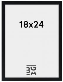 Edsbyn Svart 18x24 cm