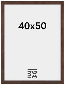 Ram Stilren Valnöt 40x50 cm