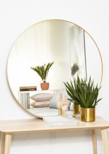 KAILA Rund Spegel Edge Gold 110 cm Ø
