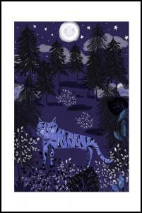 Night Tigers Poster