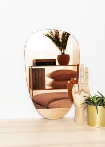 KAILA Spegel Shape II Rose Gold 25x40 cm