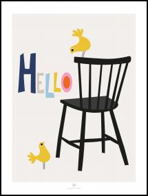 Chair - Beige Poster