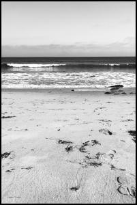 Malibu Beach sand Poster