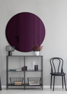 Spegel Slim Purple 70 cm Ø