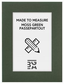 Måttbeställd Mossgrön Passepartout