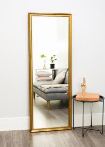 Spegel Rokoko Guld 64x170 cm