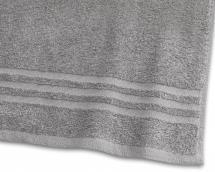 Handduk Basic Frotté - Grå 50x70 cm
