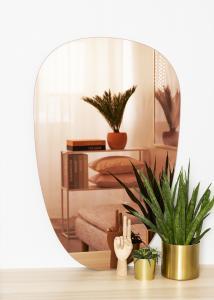 KAILA Spegel Shape II Rose Gold 64x100 cm