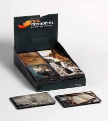 36-pack Mini Memories Album Travel 6 varianter - 40 Bilder i 10x15 cm