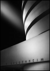 The Guggenheim Museum Poster