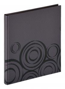 Orbit Svart - 30x33 cm (40 Svarta sidor / 20 blad)