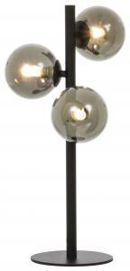 Bordslampa Molekyl 3 - Svart/Rök