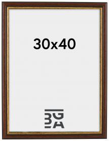 Siljan Brun 30x40 cm