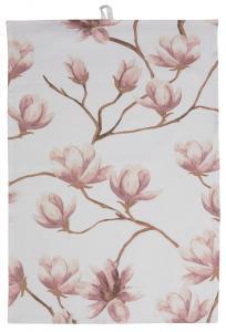 Kökshandduk Magnolia - Rosa