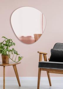 Spegel Shape Rose Gold 68x70 cm