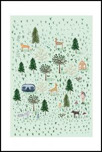 Tiny Forest Poster