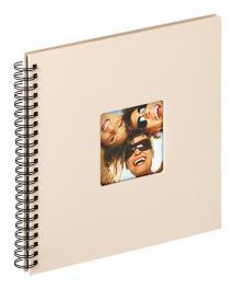 Fun Spiralalbum Sand - 30x30 cm (50 Svarta sidor / 25 blad)