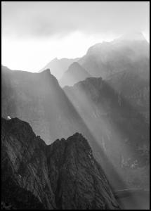 Shadow On Mountains Poster